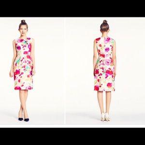 Kate Spade Watercolor Dress Size 4